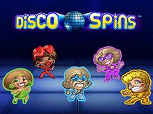 Автомат Disco Spins в клубе Вулкан