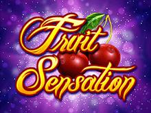 Автомат Fruit Sensation в клубе Вулкан
