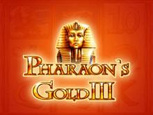 Играть на деньги в онлайн автомат Pharaohs Gold III
